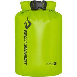 Stopper Dry Bag - 5L-Sea to Summit-Green-Uncle Dan's, Rock/Creek, and Gearhead Outfitters