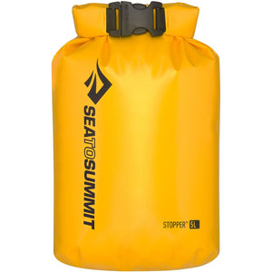 Stopper Dry Bag - 5L-Sea to Summit-Yellow-Uncle Dan's, Rock/Creek, and Gearhead Outfitters