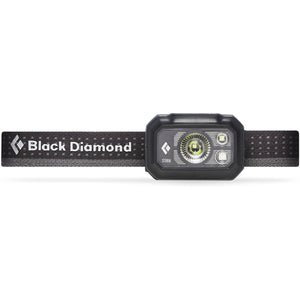 Storm375 Headlamp-Black Diamond-Graphite-Uncle Dan's, Rock/Creek, and Gearhead Outfitters