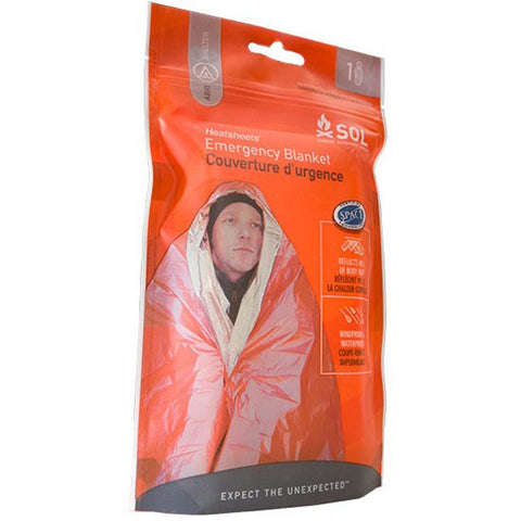 SOL Emergency Blanket-Adventure Medical Kits-Uncle Dan's, Rock/Creek, and Gearhead Outfitters