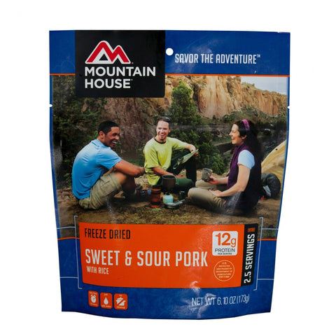 Sweet & Sour Pork w/ Rice-Mountain House-Uncle Dan's, Rock/Creek, and Gearhead Outfitters