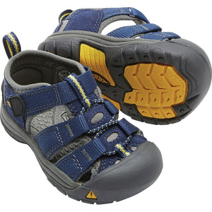 Toddlers Newport H2 Sandal-KEEN-Blue Depths Gargoyle-4-Uncle Dan's, Rock/Creek, and Gearhead Outfitters