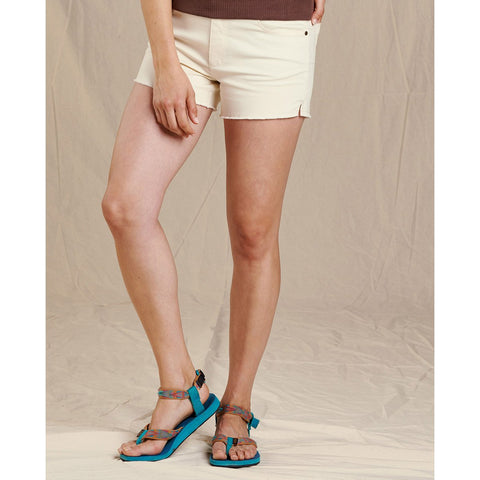 Women's Sequoia Fringe Short-Toad&Co.-Egret-2-Uncle Dan's, Rock/Creek, and Gearhead Outfitters