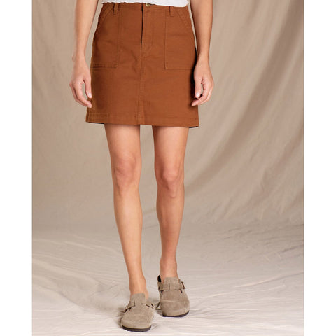 Women's Earthworks Skirt - Clearance-Toad&Co-Brown Sugar-0-Uncle Dan's, Rock/Creek, and Gearhead Outfitters