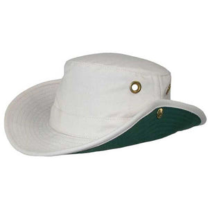 T3 Snap-Up Hat-Tilley-Natural Green Underbrim-8-Uncle Dan's, Rock/Creek, and Gearhead Outfitters