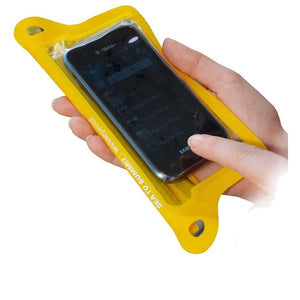 TPU Guide Waterproof Case for Smartphones-Sea to Summit-Yellow-Uncle Dan's, Rock/Creek, and Gearhead Outfitters