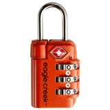 Travel Safe TSA Lock-Eagle Creek-Flame Orange-Uncle Dan's, Rock/Creek, and Gearhead Outfitters