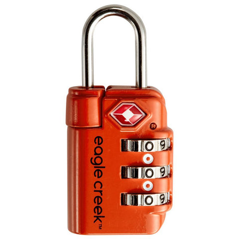Travel Safe TSA Lock-Eagle Creek-Brilliant Blue-Uncle Dan's, Rock/Creek, and Gearhead Outfitters