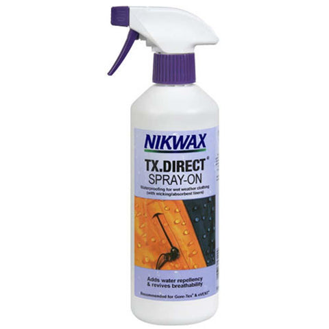 TX.Direct Spray-On Waterproofing 10oz-NikWax-Uncle Dan's, Rock/Creek, and Gearhead Outfitters