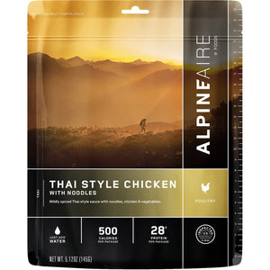 Thai Style Chicken With Noodles-AlpineAire-Uncle Dan's, Rock/Creek, and Gearhead Outfitters