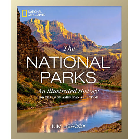 The National Parks Book-National Geographic Maps-Uncle Dan's, Rock/Creek, and Gearhead Outfitters