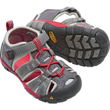 Toddlers Seacamp II CNX Sandal-KEEN-Magnet Racing Red-5-Uncle Dan's, Rock/Creek, and Gearhead Outfitters
