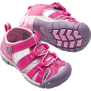 Toddlers Seacamp II CNX Sandal-KEEN-Very Berry Lilac Chiffon-4-Uncle Dan's, Rock/Creek, and Gearhead Outfitters