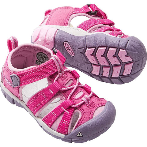 Toddlers Seacamp II CNX Sandal-KEEN-Poseidon Very Berry-4-Uncle Dan's, Rock/Creek, and Gearhead Outfitters