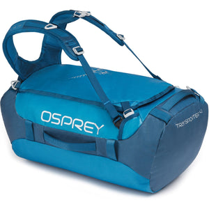 Transporter 40 Expedition Duffel-Osprey-Kingfisher Blue-Uncle Dan's, Rock/Creek, and Gearhead Outfitters