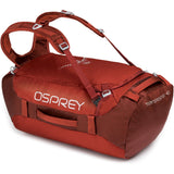 Transporter 40 Expedition Duffel-Osprey-Ruffian Red-Uncle Dan's, Rock/Creek, and Gearhead Outfitters