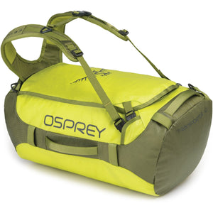 Transporter 40 Expedition Duffel-Osprey-Sub Lime-Uncle Dan's, Rock/Creek, and Gearhead Outfitters