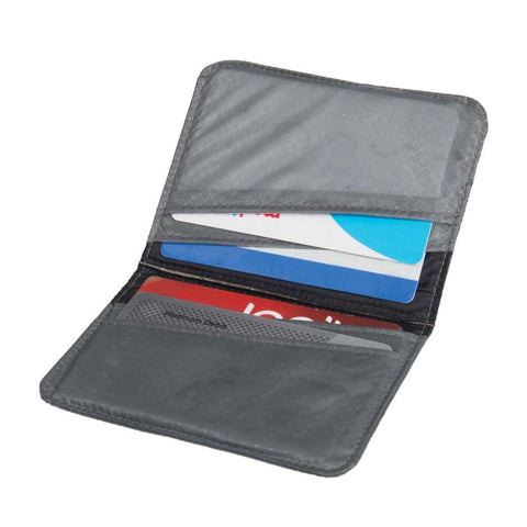 Travelling Light Card Holder RFID-Sea to Summit-Grey-Uncle Dan's, Rock/Creek, and Gearhead Outfitters