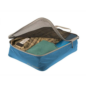 Travelling Light Garment Mesh Bag - Medium-Sea to Summit-Pacific Blue-Uncle Dan's, Rock/Creek, and Gearhead Outfitters