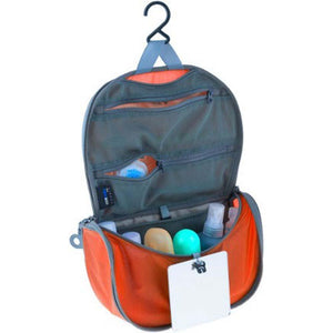 Travelling Light Hanging Toiletry Bag - Small-Sea to Summit-Orange-Uncle Dan's, Rock/Creek, and Gearhead Outfitters