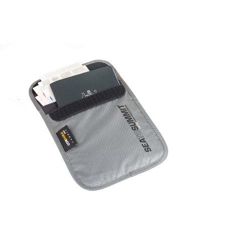 Travelling Light Passport Pouch RFID-Sea to Summit-Grey-Uncle Dan's, Rock/Creek, and Gearhead Outfitters