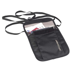 Travelling Light Neck Pouch-Sea to Summit-Black-Uncle Dan's, Rock/Creek, and Gearhead Outfitters