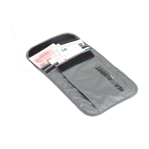 Travelling Light Neck Wallet RFID-Sea to Summit-Grey-Uncle Dan's, Rock/Creek, and Gearhead Outfitters