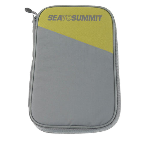 Travelling Light Travel Wallet RFID-Medium-Sea to Summit-Lime-Uncle Dan's, Rock/Creek, and Gearhead Outfitters