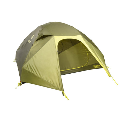 Tungsten 4P Tent-Marmot-Green Shadow/Moss-Uncle Dan's, Rock/Creek, and Gearhead Outfitters