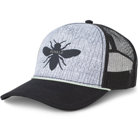Women's Journeyman Trucker Hat-prAna-Black Bee-Uncle Dan's, Rock/Creek, and Gearhead Outfitters