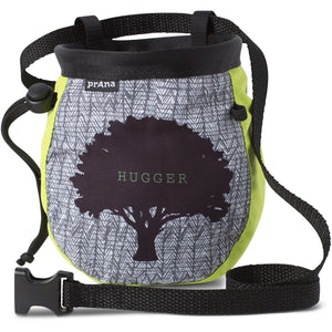 Graphic Chalk Bag with Belt-prAna-Lime Tree Hugger-O/S-Uncle Dan's, Rock/Creek, and Gearhead Outfitters