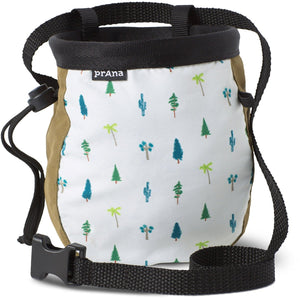 Graphic Chalk Bag with Belt-prAna-Woodland Green Trees-O/S-Uncle Dan's, Rock/Creek, and Gearhead Outfitters