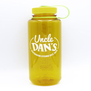 32 oz Uncle Dan's Logo Wide Mouth Bottle-Nalgene-Clementine-Uncle Dan's, Rock/Creek, and Gearhead Outfitters