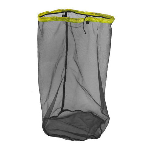 Ultra-Mesh Stuff Sack - L / 15L-Sea to Summit-Kiwi Green-Uncle Dan's, Rock/Creek, and Gearhead Outfitters
