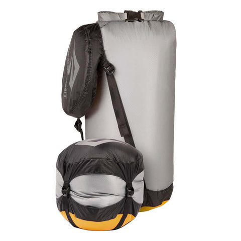 Ultra-Sil Compression Dry Sack - S - 10L-Sea to Summit-Grey-Uncle Dan's, Rock/Creek, and Gearhead Outfitters