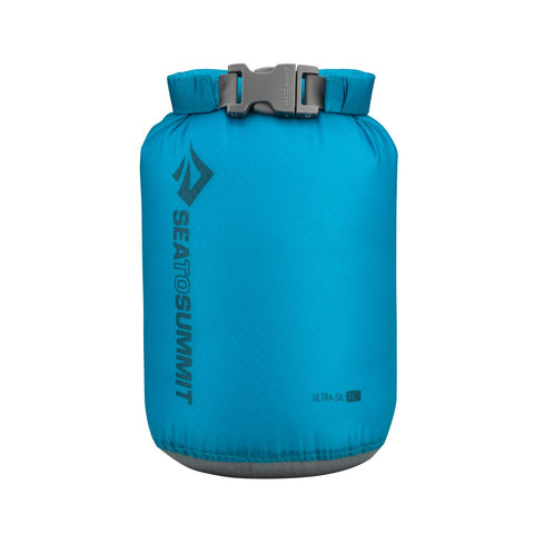 Ultra-Sil Dry Sack - 1L-Sea to Summit-Pacific Blue-Uncle Dan's, Rock/Creek, and Gearhead Outfitters