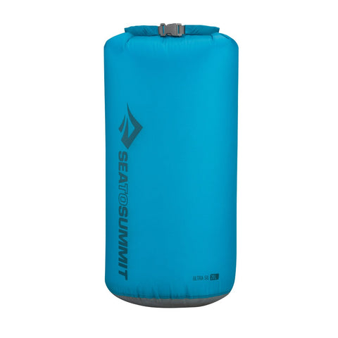 Ultra-Sil Dry Sack - 20L-Sea to Summit-Pacific Blue-Uncle Dan's, Rock/Creek, and Gearhead Outfitters