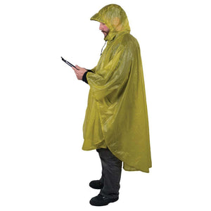 Ultra-Sil Nano Poncho-Sea to Summit-Lime-Uncle Dan's, Rock/Creek, and Gearhead Outfitters