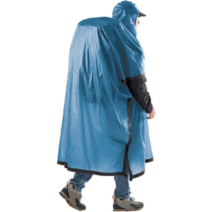 Ultra-Sil Nano Tarp Poncho-Sea to Summit-Pacific Blue-Uncle Dan's, Rock/Creek, and Gearhead Outfitters