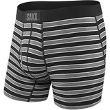 Men's Ultra Boxer Brief-Saxx-Black Crew Stripe-S-Uncle Dan's, Rock/Creek, and Gearhead Outfitters
