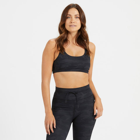 Vuori Women's Yosemite Bra - VW104_Black Camo