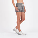 Vuori Women's Halo Performance Short-VW339_Heather Grey