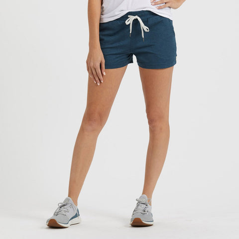 Vuori Women's Halo Performance Short - VW339_Indigo Heather