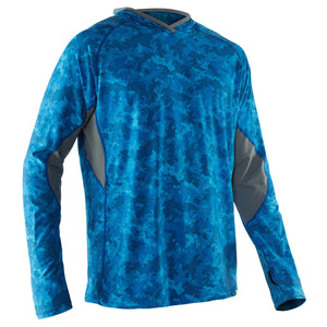 Men's Varial Hoodie-Northwest River Supplies-Marine Blue Camo-S-Uncle Dan's, Rock/Creek, and Gearhead Outfitters
