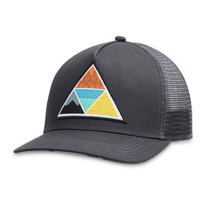 Vortex Trucker Hat-Pistil-Black-Uncle Dan's, Rock/Creek, and Gearhead Outfitters