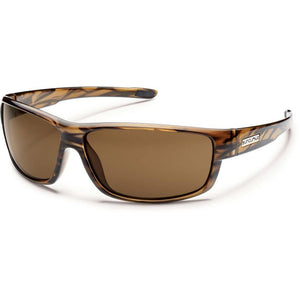 Voucher Sunglasses (Medium Fit)-Suncloud-Brown Stripe/Polarized Brown-Uncle Dan's, Rock/Creek, and Gearhead Outfitters