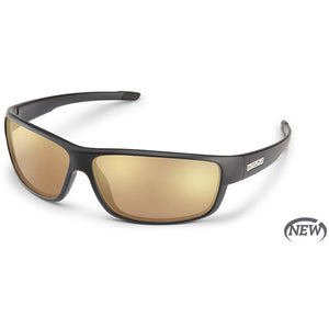 Voucher Sunglasses (Medium Fit)-Suncloud-Matte Black/Polarized Sienna Mirror-Uncle Dan's, Rock/Creek, and Gearhead Outfitters