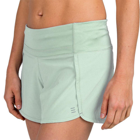 Women's Bamboo Lined Breeze Short-Free Fly-Seafoam-XS-Uncle Dan's, Rock/Creek, and Gearhead Outfitters