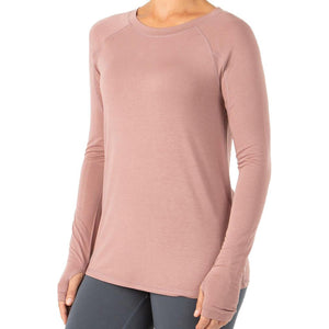 Women's Bamboo Midweight Long Sleeve-Free Fly-Light Sangria-XL-Uncle Dan's, Rock/Creek, and Gearhead Outfitters