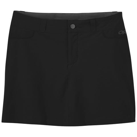 Women's Ferrosi Skort-Outdoor Research-Black-2-Uncle Dan's, Rock/Creek, and Gearhead Outfitters